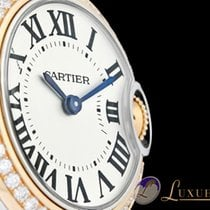 Cartier Ballon Bleu De Cartier mit Diamantenbesatz | 28 mm