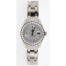 Rolex Pearlmaster 80299 Ladies White Gold with Factory Mother...