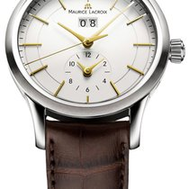 Maurice Lacroix Les Classiques Date Steel 40mm Silver United States of America, New York, Airmont