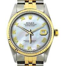 Rolex Datejust Or/Acier 36mm Nacre