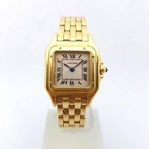 Cartier Panthère Panthere Quartz 18k Gold Lady 1070 22mm
