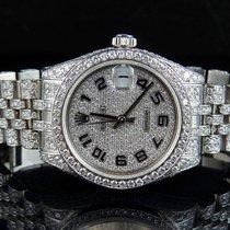 Rolex Midsize DateJust 178274 31mm Jubilee Bracelet Full VS...