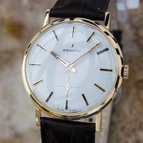 Zenith Swiss Made 18k Rose Gold Mens 1960 Manual Luxury Dress...