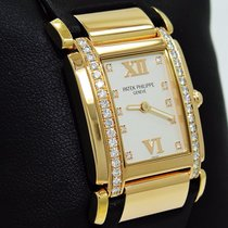 Patek Philippe Twenty 4 4920r 18k Rose Gold Diamonds Ladies...