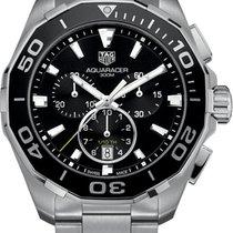 TAG Heuer Aquaracer 300M новые 2021 Кварцевые Хронограф Часы с оригинальной коробкой cay111a.ba0927