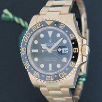 Rolex GMT-Master II Yellow Gold NEW 116718LN