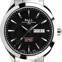 Ball Stahl Automatik Schwarz 43mm neu Engineer II Chronometer Red Label
