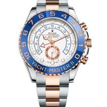 Rolex Yacht-Master II Gold/Steel 44mm White United States of America, New York, NEW YORK