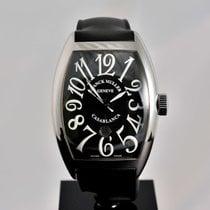 Franck Muller Casablanca Steel Black / Box&Papers / Warranty