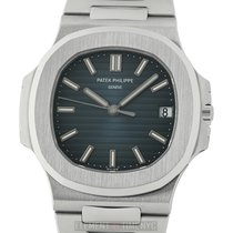 Patek Philippe Nautilus Stainless Steel Blue Dial 40mm