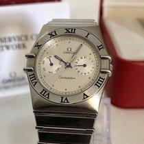 Omega Constellation 1987 vintage watch quartz unisex + Box