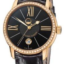 Ulysse Nardin Classico Luna Rose gold 40mm Black