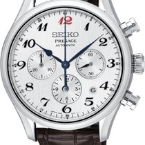 Seiko Presage Steel 42.00mm White Arabic numerals United States of America, New Jersey, Allendale