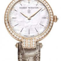 Harry Winston Rose gold Quartz White new Premier