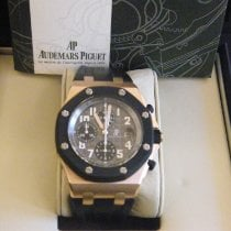 Audemars Piguet Royal Oak Offshore Chronograph Oro rosa 42mm Nero Arabo Italia, Roma
