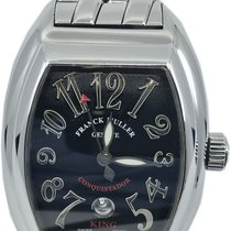 Franck Muller Steel 48mm Automatic Conquistador pre-owned