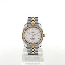 帝陀 新的 自動發條 寶石 螢光指針 螺擰式錶冠 螢光刻度 38mm 鋼 藍寶石玻璃