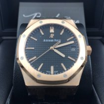 Audemars Piguet 15500OR.OO.D002CR.01 Rose gold 2019 Royal Oak new