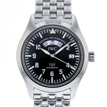 IWC Pilot Spitfire UTC Steel 39mm Black