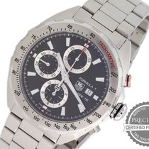 TAG Heuer Formula 1 Calibre 16 pre-owned 44mm Black Chronograph Date Steel