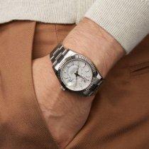 Rolex Sky-Dweller Stal 42mm Biały