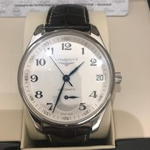 Longines Steel Automatic Silver 42mm pre-owned Master Collection