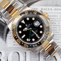 Rolex GMT-Master II Gold/Steel 40mm Black No numerals United States of America, Virginia, Sterling