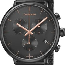 ck Calvin Klein Steel 43mm Quartz K8M27421 new