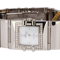 Omega Constellation Quartz Steel 19,40mm Mother of pearl No numerals