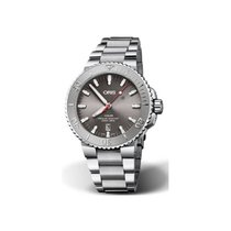 Oris Steel Automatic Grey No numerals 43.5mm new Aquis Date