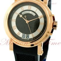 Breguet Marine Automatic Big Date, Black-Silver Dial - Rose...