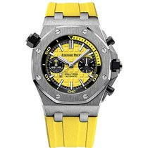 Audemars Piguet Royal Oak Offshore Diver Chronograph Ατσάλι 42mm Κίτρινο
