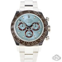 Rolex Daytona Platinum | Ice Blue Dial and Brown Ceramic Bezel