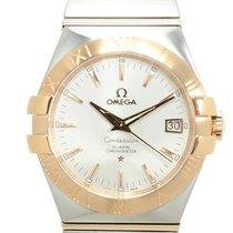 歐米茄 (Omega) Constellation 18k Rose Gold And Steel Silver...