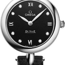 Omega De Ville Prestige Steel 27.4mm Black
