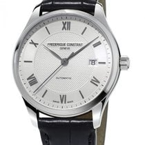 Frederique Constant Classics Index Acier 40mm Blanc France, Bordeaux