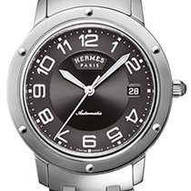 Hermès Clipper Steel 39mm Grey United States of America, New York, Airmont