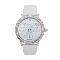 Blancpain Women White gold 37mm Mother of pearl