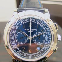 Patek Philippe Chronograph Platinum 42mm Blue Arabic numerals
