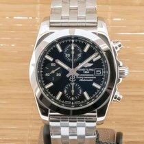 Breitling Chronomat 38 Steel 38mm Black No numerals United Kingdom, Southampton