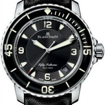 Blancpain 5015-1130-52 Steel Fifty Fathoms 45mm new United States of America, New York, New York