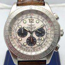 Breitling B-2 Steel 44mm Silver No numerals