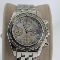Breitling A13357 Steel Chrono Cockpit 39mm pre-owned United States of America, New York, New York