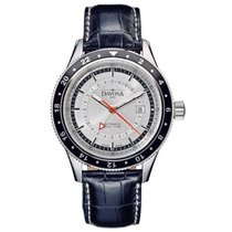Davosa World Traveller Steel 44mm Silver