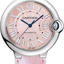 Cartier Ballon Bleu 36mm Acero 36mm Rosa Romanos