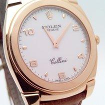 Rolex Cellini nuevo 2001 Cuerda manual Reloj con estuche y documentos originales 5330/5