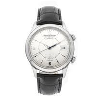Jaeger-LeCoultre Master Memovox Steel 40mm Silver Arabic numerals United States of America, Pennsylvania, Bala Cynwyd