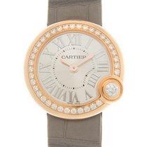 Cartier Ballon Blanc Złoto różowe 26mm Srebrny