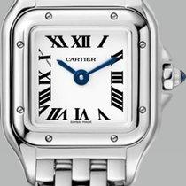 Cartier Panthère Acero 25mm Plata Romanos