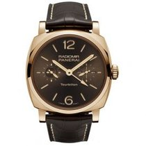 Panerai Rose gold Manual winding Brown Arabic numerals 48mm new Special Editions